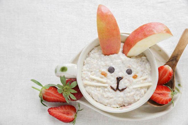 Easter porridge recipe food