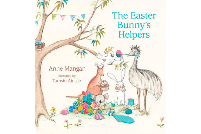 easter kids book bunny helpers