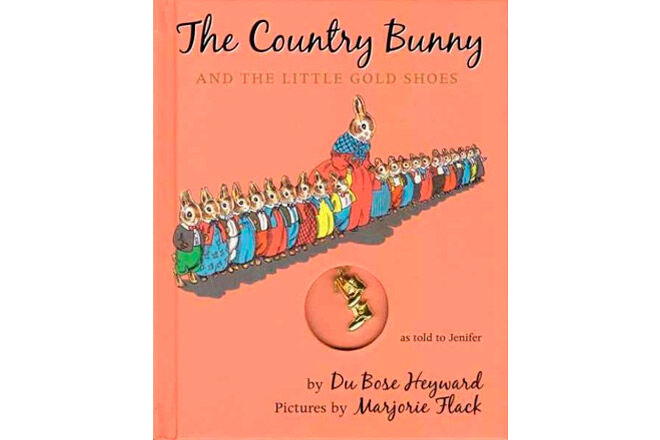 easter books country bunny little gold shoes