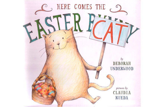 easter book here comes the easter cat