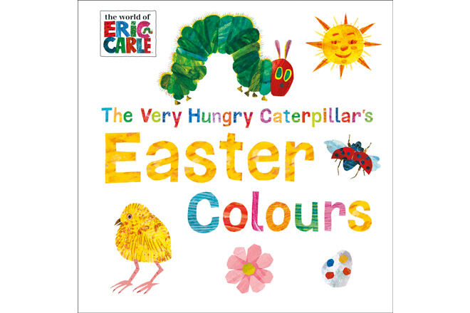 easter kids book very hungry caterpillars colours