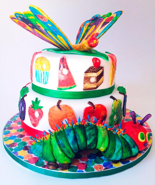 Hungry Caterpillar Cake Designs