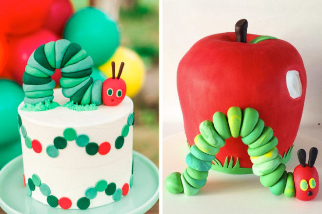eric carle very hungry caterpillar cake