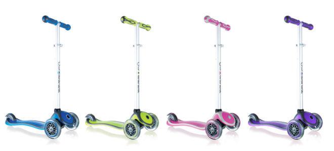 Globber My Free Up three wheel scooter kids