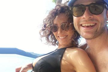 Hamish & Zoe on holidays