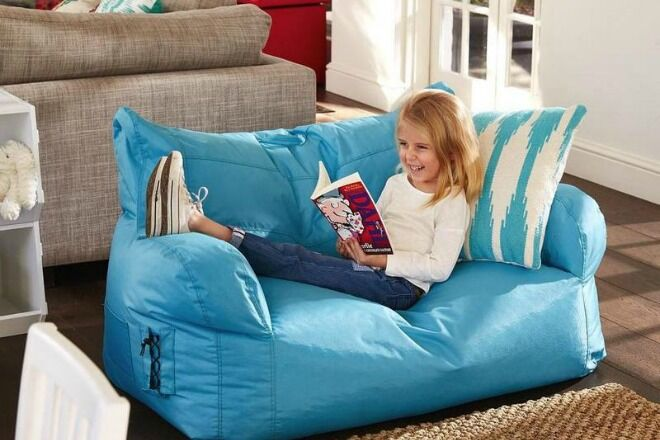Hip Kids Brady two seater bean bag