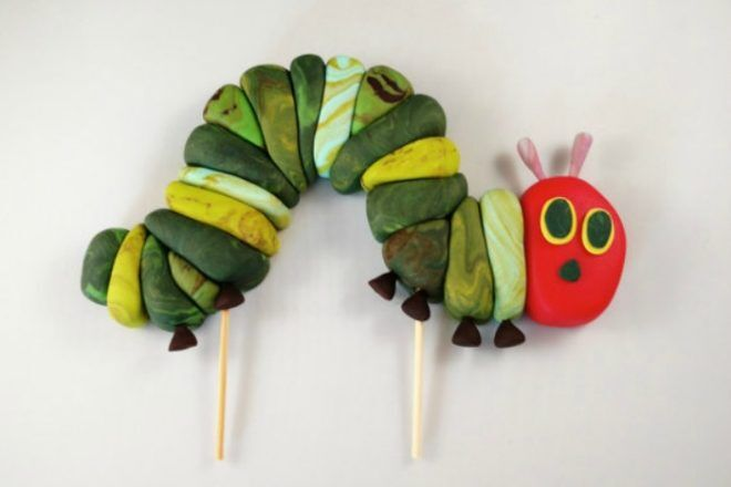 very hungry caterpillar party cake topper