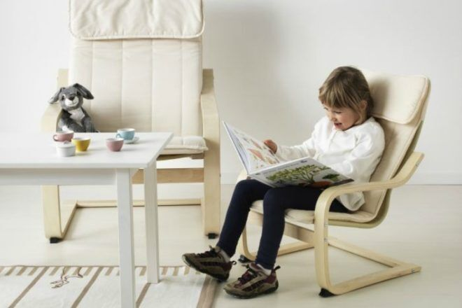 Ikea kids Poang chair