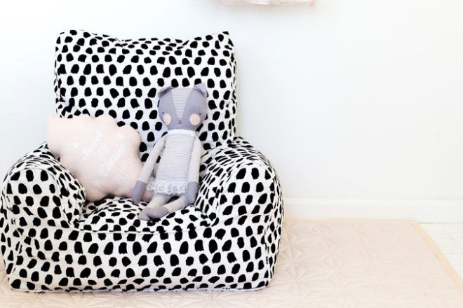 children's couches Lelbys creative bean chair