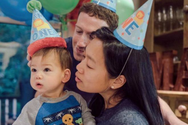 Mark Zuckerberg baby