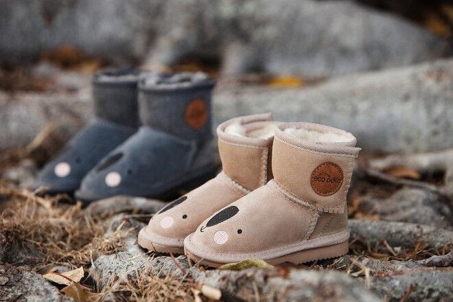 Eco Peko boots merino ugg boots