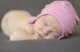 Sweet cheeks merino baby hat