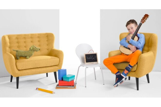 Mini Kubrick kids couch children's couches