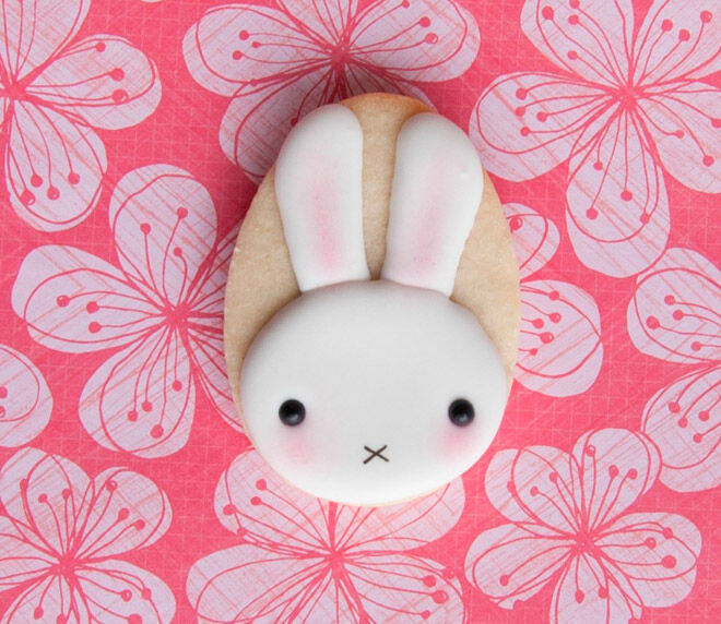 miss cuit miffy the rabbit easter cookie