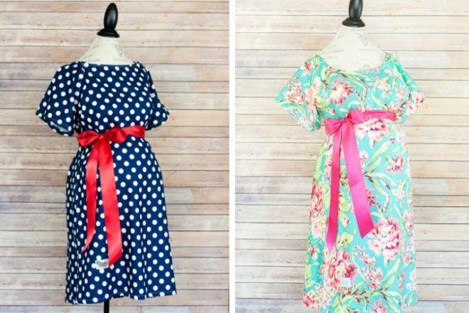 Modmom stylish maternity hospital gown