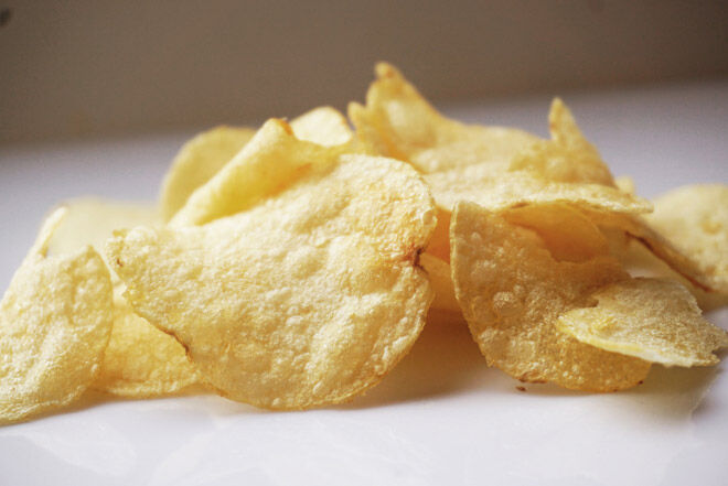 morning sickness pregnancy food chips