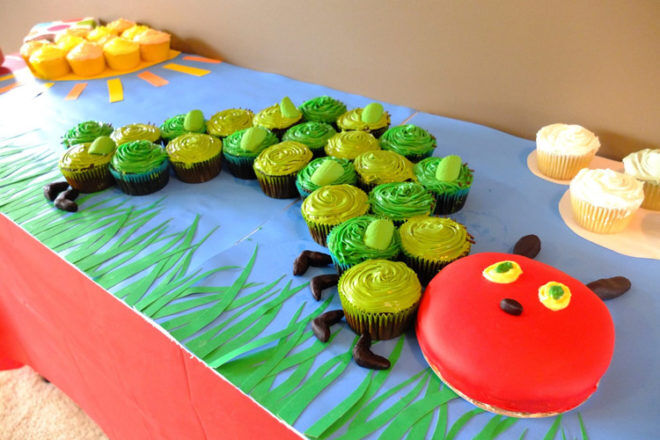 Cupcake Eric Carle Cake Very Hungry Caterpillar