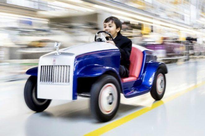 Rolls Royce children's hospital car