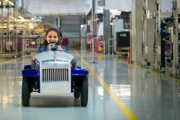 Rolls-Royce sick kids