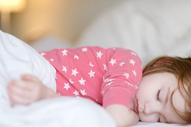 bedtime routine sleeping tips for kids