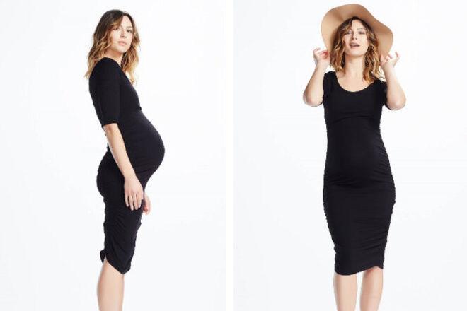 Soon Maternity Celina 3/4 Sleeve Maternity Dresses