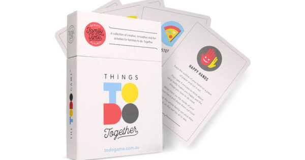 Things Todo Together Game A Fun Family Game Everyone Can