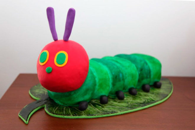 very hungry caterpillar cake eric carle