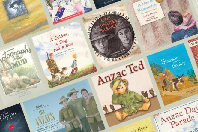 Anzac Day picture books for children