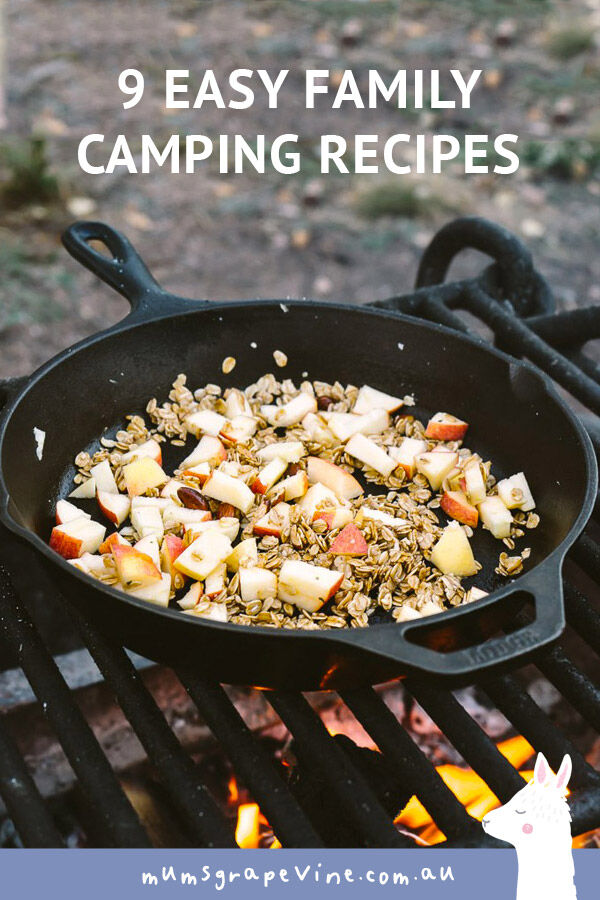 9 camping recipes to feed the family