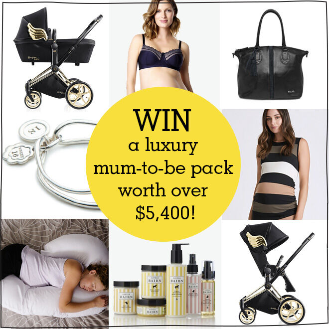 win a luxury maternity prize pack