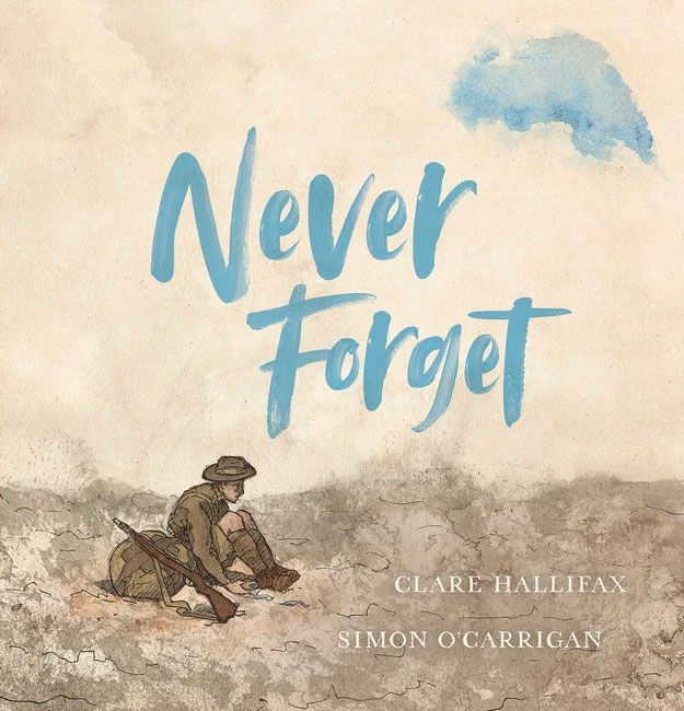Never Forget by Clare Hallifax