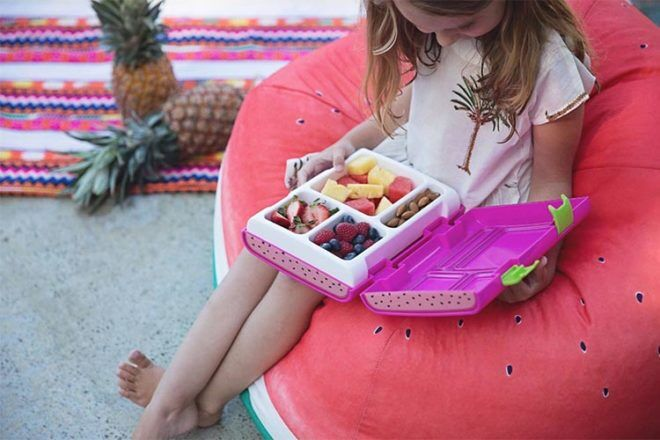 Rainebeau bento style lunch box for kids