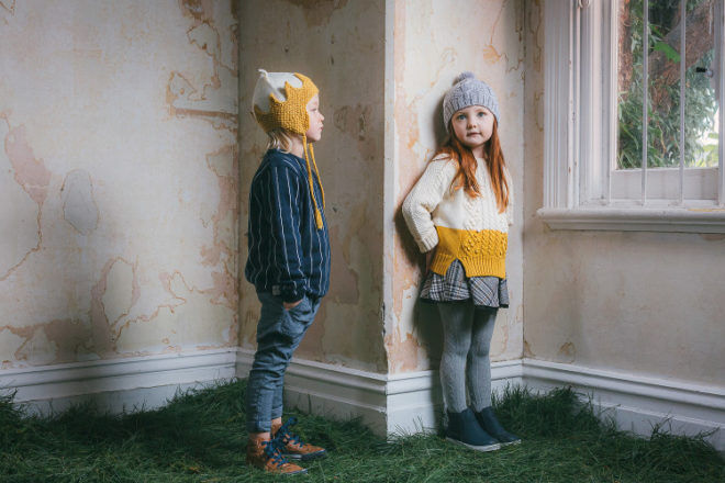 Acorn Kids Wild Things merino beanie