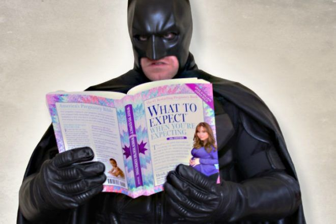 Batman what to expect when you're expecting