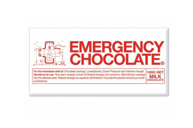 emergency chocolate fun gift idea for mums