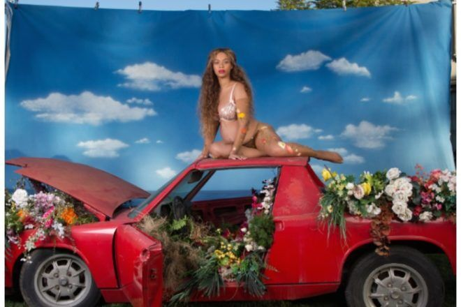 Beyonce maternity style pregnant photo shoot