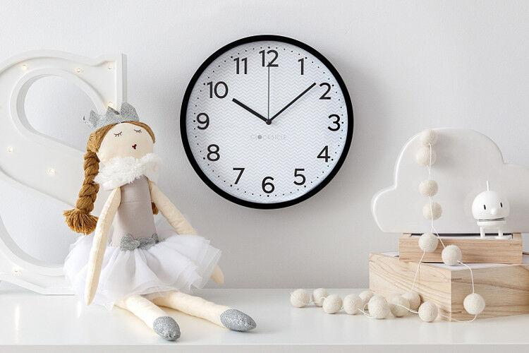 Clocksicle black wall clock
