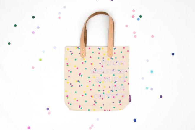 confetti tote bag Women's Health