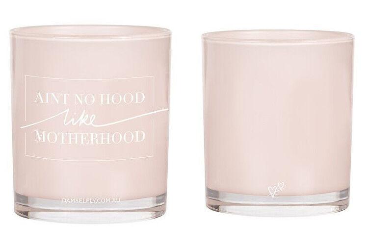 damselfly motherhood candle