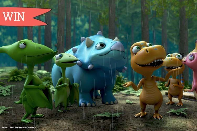 Dinosaur Train Live on stage competition