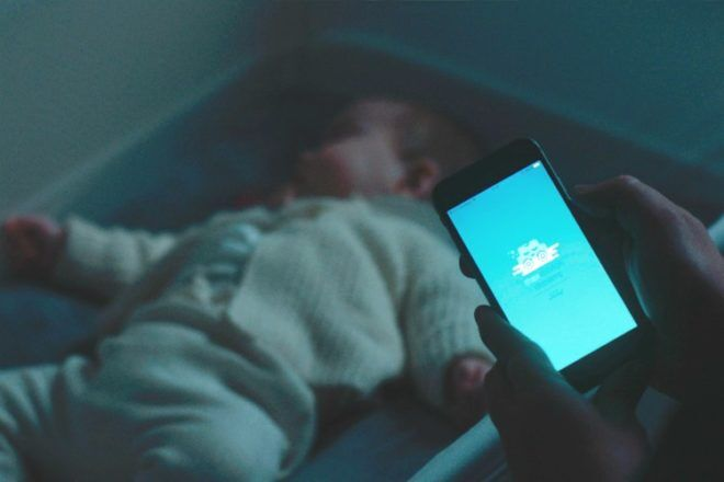 Max Motor Dreams cot from Ford works with an app