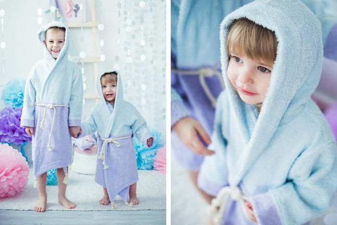 children's dressing gowns Etsy store Cot and Cot