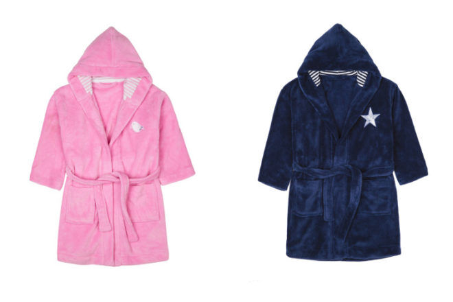 Four in the Bed children's dressing gowns