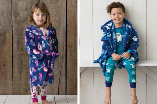 Hatley children's dressing gowns