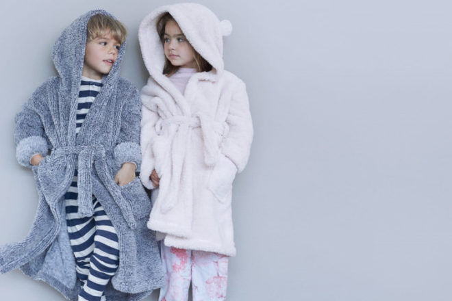 Papinelle children's dressing gowns