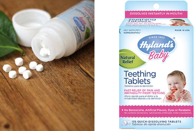 Hyland's Baby Teething Tablets safety recall Australia