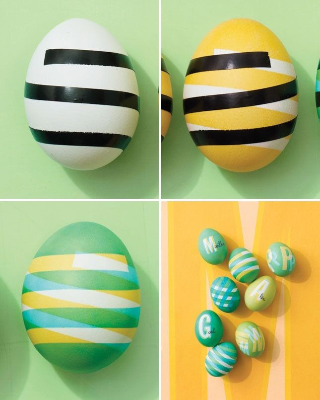 How to add coloured layers to easter eggs