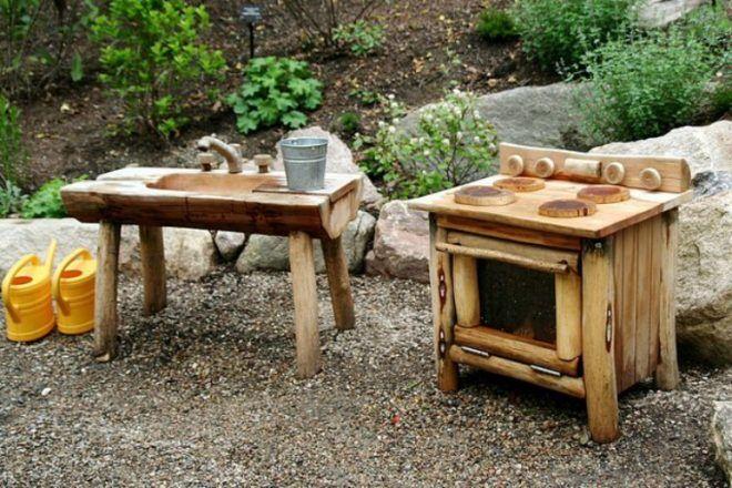 outdoor mud kitchen for kids