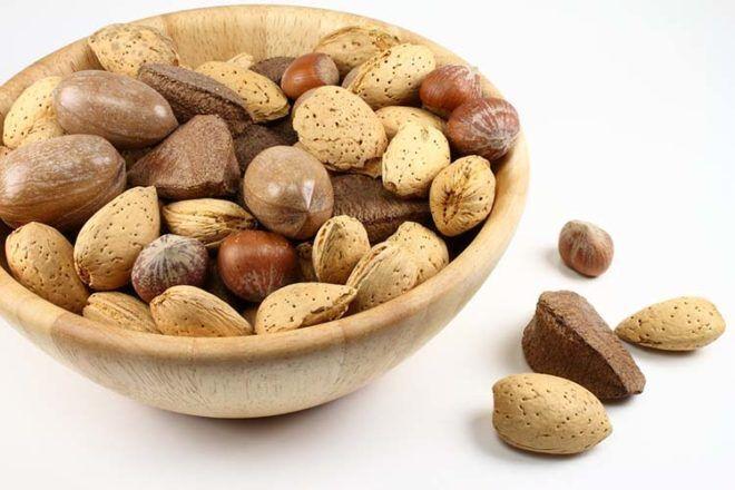 nuts fertility super foods