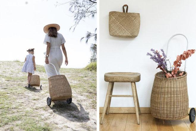 Olli Ella big luggy basket gift ideas for mums